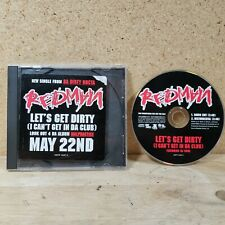 Redman Let's Get Dirty Single CD - Promo Copy Promotional Def Jam