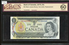 1973 Bank of Canada $1 Replacement Banknote - *AL6493385