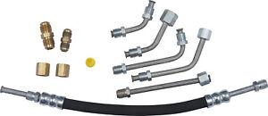 Power Steering Pressure Line Hose Assembly-Universal Tube/hose Kit Gates 354710