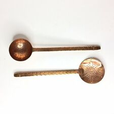 New ListingNew Imax Old World Copper Handmade Ladle And Skimmer