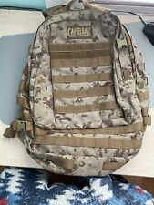 CamelBak Maximum Gear BFM Tactical Backpack Desert Camo H2O Hydration Pack Used