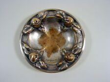 Vide Poche Baguier Bronze Argenté Art Nouveau Signé Albert Marionnet, Poinçon
