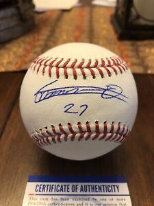 Vladimir Guerrero Jr Autographed Baseball W/ PSA/DNA COA