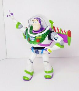 Disney Pixar Toy Story Turbo Glo Buzz Lightyear Figure with Anti Gravity Belt