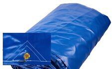 3.0m x 3.5m High Quality Brand New PVC Tarp Strong Vinyl Blue Waterproof