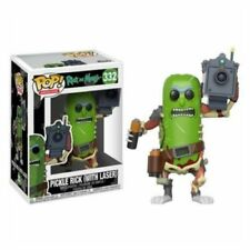 "RICK & MORTY - PICKLE RICK WITH LASER 3.75"" POP VINYL FIGURE FUNKO 332 UK SELLER"
