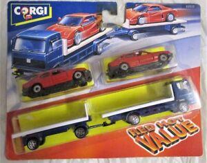 Corgi 92630 - Ford Transporter With 2 Cars                               Diecast