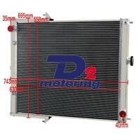 50mm Aluminum RADIATOR FOR NISSAN PATROL GU SERIES 2 ZD30 3.0ltr TURBO 2001-2010