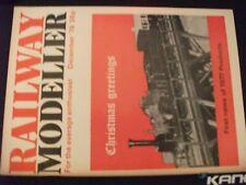 ** Railway Modeller December 76 Ilkley / Corfe Castle Signal Box /