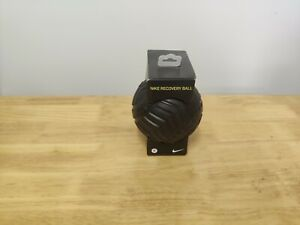 """Nike Recovery Ball 5"""" Black/Green Swoosh Foam Roller Massager Yoga Muscle Tissue"""