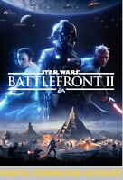 Star Wars Battlefront 2  | DIGITAL DOWNLOAD ACCOUNT | PC | Region free