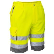 Portwest Hi Vis Polycotton Work Shorts %7c Hi Visibility Workwear