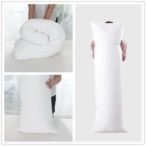 Seitenschläferkissen Seitenkissen Dakimakura Kissen Bezug 150x50cm Weiß weich