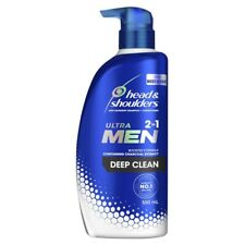 Head & Shoulders Ultra Men 2 in 1 Deep Clean Shampoo + Conditioner 550mL
