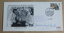 THE IMPORTANCE OF BEING EARNEST 1995 COVER SIGNED BY ACTRESS BARBARA LEIGH-HUNT