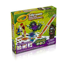 New Crayola Silly Scents Stinky Edition Marker Maker kit