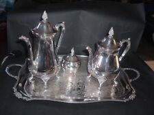 ancien service à thé ou café métal argenté anglais viners of sheffield occasion