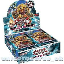Number Hunters UNL Edition New and Sealed Box x24 Boosters x5 Holofoil Cards!