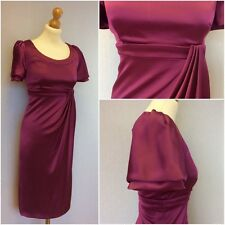 Karen Millen Ladies Pink Empire Line Evening Dress UK Size 10/12