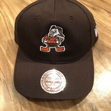 93efe4c372e Cleveland Browns NFL Mitchell   Ness Adjustable Slouch Hat