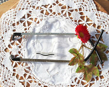 Switch It Brillengestell Brille 710 B 145 ruthenium schwarz weiß Metall schmal