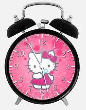 "Hello Kitty Alarm Desk Clock 3.75"" Room Decor X20 Nice for Gifts wake up"