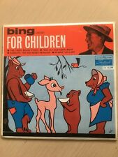 "BING CROSBY  *RARE 7"" E.P. ' FOR CHILDREN ' 1959 VGC"