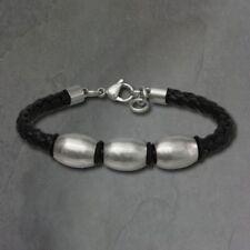 Unisex Modeschmuck-Armbänder Edelstahl-Perlen