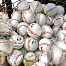 (334) 30 used Mlb Batting Practice Balls Flat Seem