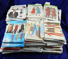 Sewing Pattern Lot 122 Womens and Mens 1970-Current Cut and Uncut