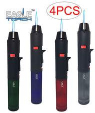 4 Pack Eagle Torch Pen Gun Cigar Lighter Butane Refillable Semi-Transparent Tank