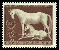 EBS Germany 1944 Brown Ribbon Horse Race - Braune Band - Michel 899 MNH**