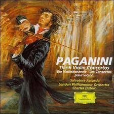 SALVATORE ACCARDO - Paganini: 6 Violin Concertos - 3 CD - Box Set - **Mint**
