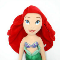 "Disney Store PRINCESS ARIEL DOLL 21"" Little Mermaid Plush Toy"