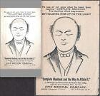 Lost Manhood  Quack 1890 s ED Sex Cure Erie Medical Co Buffalo NY HTL Trade Card