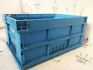 KLT CONTAINERS BOX HEAVY DUTY FOLDING STORAGE CRATES KLT 6410 Georg UTZ 60x40x28