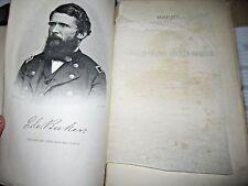 History of the Secret Service by Gen Baker 1867 1st Ed Civil War Booth's Capture
