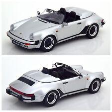 1/18 KK Scale Porsche 911 Speedster 1989 Gris Éd Limitée 750Ex Livraison Domicil