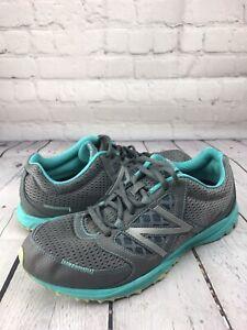 New Balance 310Running Trail Shoe Gray Aqua WT310GT  Womens Size 10 B