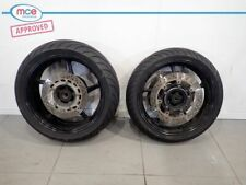Yamaha FZ8 N Wheels Complete With Discs Pair Spare FZ8NFZ8S 2010-2015 8769 Miles