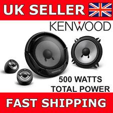 """Kenwood KFC-E130P 5.25"""" 13 Cm 500 W Voiture Van Porte Haut-parleurs 2 Voie Composante Enceintes"""