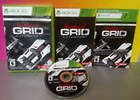 Grid AutoSport Limited Black Edition Racing - Microsoft Xbox 360 Complete Game