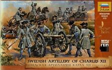 Zvezda 1/72 Swedish Artillery of Charles XIIc (37 w/6 Horses & 5 Cannons ZVE8066