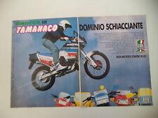 advertising Pubblicità 1989 MOTO CAGIVA TAMANACO 125