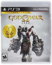 God of War Saga Collection 1 2 3 Chains Olympus Ghosts Sparta PlayStation 3 PS3