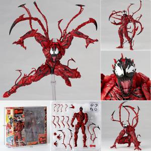 Marvel Carnage Red Venom Edward Brock Action Figure Model Toy New no Box