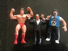 WWF MR. WONDERFUL,CAPT LOU ALBANO AND GENE OKERLUND. ALL 3 FOR SALE ONE PRICE