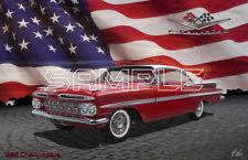 1959 Chevy Impala American Classic Print