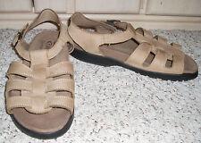 DEXTER Comfort Sandals Shoes~Beige ~ Size 10