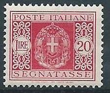 1934 REGNO SEGNATASSE 20 LIRE MNH ** - C5-5